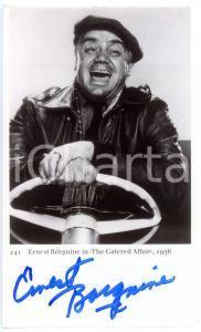 1956 CINEMA Attore Ernest BORGNINE in