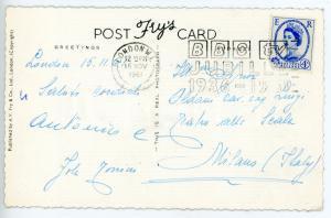 1961 LONDRA - CINEMA Jole TONINI *Cartolina con AUTOGRAFO viaggiata - FP