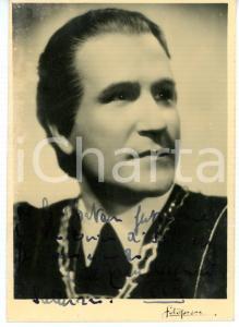 1941 CINEMA Attore Carlo TAMBERLANI *Foto seriale con AUTOGRAFO 10x14 cm