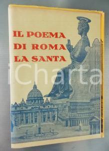 1933 Virgilio SCATTOLINI Il poema di Roma la santa *AUTOGRAFO RARO vol. 1