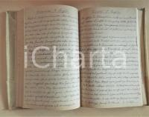 1930 Luigi GREA Diario personale in scrittura cifrata - CURIOSO 400 pp.