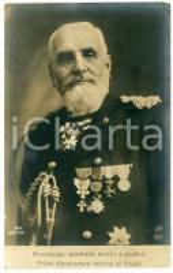 1920 ca Raffaele BOREA RICCI D'OLMO - Primo governatore Tripoli *Cartolina FP NV