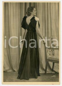 1936 MILANO LIRICA Ritratto di cantante con dedica al parrucchiere - AUTOGRAFO