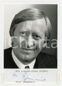 1980 ca GERMANY Hans ZEHETMAIR - Politico CSU *Foto seriale con AUTOGRAFO