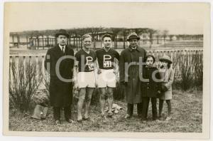1940 ca TORINO LITTORIALI SPORT Atleti con gli allenatori - Foto 18x13 (2)