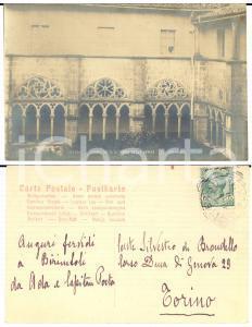 1915 ca VITERBO S. Maria della Verità - Cartolina a Silvestro DI BRONDELLO