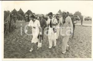 1950 ca DAKAR TEATRO Aldo ALLEGRANZA  - BERTOLI in tournée *Foto con AUTOGRAFO