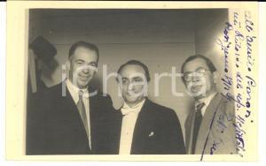 1949 ROSIGNANO LIRICA Umberto BERRETTONI e Dino LESSI - Foto AUTOGRAFO