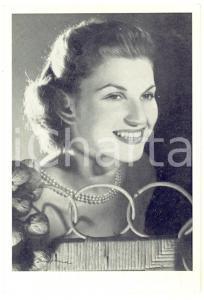 1950 ca Ritratto di Laura BENELLI - Foto seriale con AUTOGRAFO 9x14 cm