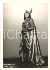 1955 ca MILANO TEATRO ALLA SCALA Mario ORTICA in