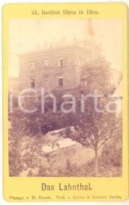 1870 ca DIEZ (D) Institut DIETZ - Das LAHNTHAL - Foto H. HARDT CDV