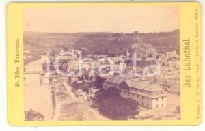 1870 ca DIEZ (D) Panorama del paese - Foto H. HARDT CDV VINTAGE