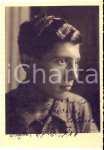 1937 CRISSOLO Ritratto del pugile Salvatore SECCO - Foto con AUTOGRAFO