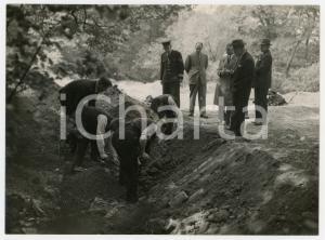 1957 LONDON Cranford Park - Caso Muriel MAITLAND - Ricerche della vittima *Foto