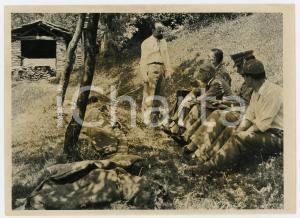 1957 PAESANA (CN) Caso Biagio PICCA - Investigatori sul luogo della strage *Foto