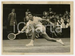 1956 LONDON WIMBLEDON Tennis - Nicola PIETRANGELI vs Malcolm ANDERSON *Photo