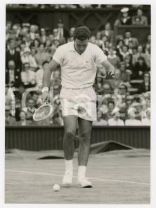 1958 LONDON WIMBLEDON Centre Court - Nicola PIETRANGELI vs Luis AYALA *Foto