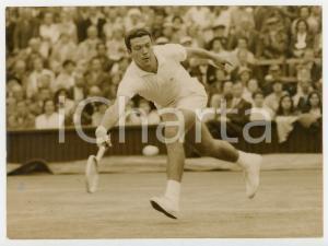 1958 LONDON WIMBLEDON Centre Court - Nicola PIETRANGELI vs Bobby WILSON *Foto