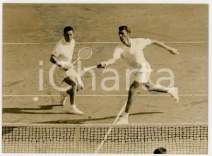 1961 MILANO Nicola PIETRANGELI e Orlando SIROLA vincono finale Coppa Davis *Foto