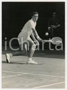 1961 MILANO TENNIS Finale Coppa Davis - Nicola PIETRANGELI vs Ulf SCHMIDT *Foto