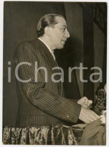1956 ROMA Teatro Brancaccio - Discorso di Giulio ANDREOTTI - Ritratto *Foto