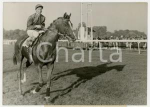 1959 PARIS LONGCHAMP Prix Arc de Triomphe - George MOORE vince su SAINT CRESPIN