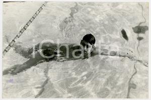 1959 GENOVA Campionati di nuoto - Paolo GALLETTI Vince gara 400 mt stile libero