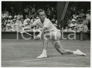1960 LONDON WIMBLEDON No. 1 Court - Match Rod LAVER vs Herbert FLAM *Photo 20x15