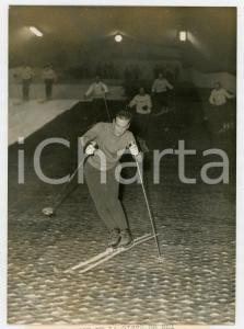 1960 PARIS Expo Porte de Versailles - Jean VUARNET scia su pista artificiale