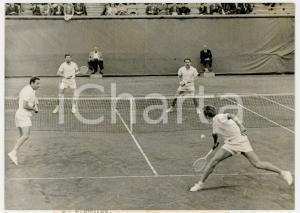 1960 PARIS COPPA DAVIS - Jean-Claude MOLINARI Jean-Noël GRINDA vs team Danimarca