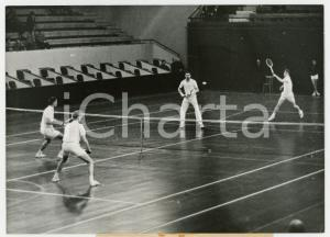 1960 PARIS COUPE DU ROI Stade Pierre-de-Coubertin - Doppio SVEZIA vs DANIMARCA