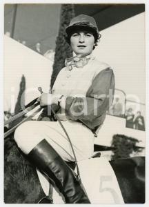 1961 CAGNES-SUR-MER Prix des Amazones - Vincitrice Jeannine LEFEVRE *Foto 13x18