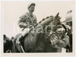 1961 EPSOM DERBY - Winner PSIDIUM ridden by Roger POINCELET *Photo 20x15