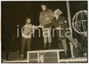1962 CHAMONIX Mondiali SCI ALPINO - Barbara FERRIES Pia RIVA Christl HAAS *Foto