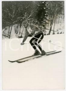 1962 CHAMONIX Campionati mondiali SCI ALPINO - Karl SCHRANZ vince discesa libera