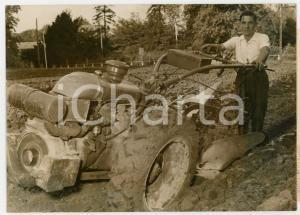 1956 MONTLHÉRY - Claude MURAILLE élu meilleur laboureur de la région *Foto