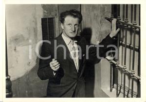 1958 TORINO Gerard CROISET in città per il delitto DIABOLICH (4) Foto 13x18
