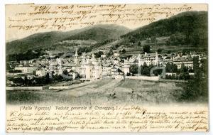 1904 CRAVEGGIA Veduta con Chiesa Santi Giacomo e Cristoforo *Cartolina FP VG
