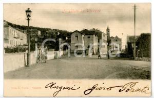 1905 ca VARAZZE (SV) Via Invrea - Scorcio caratteristico *Cartolina ANIMATA FP