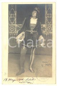 1904 MILANO TEATRO LIRICO Nello SACCHI