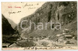 1904 TRASQUERA - VALICO DI ISELLE (VB) Veduta panoramica *Cartolina FP VG