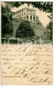 1903 CABIATE (COMO) Scorcio di Villa PADULLI *Cartolina FP VG