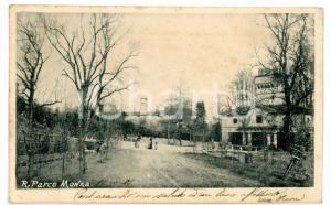 1902 MONZA Passeggiata al parco *Cartolina VINTAGE - FP VG
