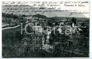 1905 ca SALTRIO (VA) Veduta panoramica *Cartolina FP VG