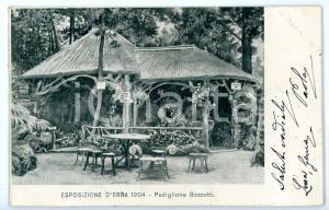 1904 1^ ESPOSIZIONE DI ERBA (CO) Padiglione cav. Erminio BOZZOTTI *Cartolina FP