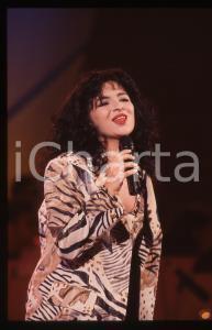 35mm vintage slide* 1995ca ITALIA MUSICA Serenella OCCHIPINTI Ritratto (1)