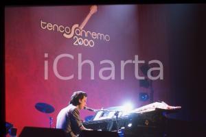 35mm vintage slide* 2000 SANREMO Nick CAVE in concerto al Premio Tenco (1)