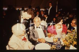 35mm vintage slide* 1985ca COSTUME Jamie Anne Maria e Leonard BERNSTEIN (1)