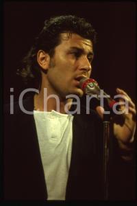 35mm vintage slide* 1992 SANREMO - BRACCO DI GRACI Ritratto del cantante (4)