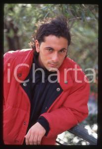 35mm vintage slide*1996 SANREMO GIOVANI Massimo CAGGIANO Ritratto del cantante 1